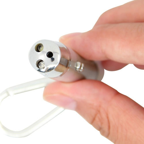 Portable LED Mini Flashlight Keychain