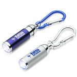 Pocket Size Flashlight With Carabiner