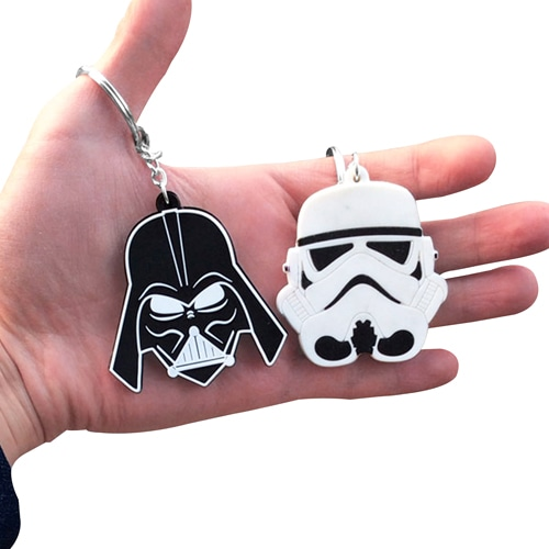Customize Shape 3D PVC Keychain