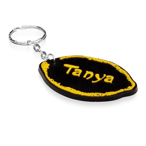 Customize Shape 3D PVC Keychain Image 4