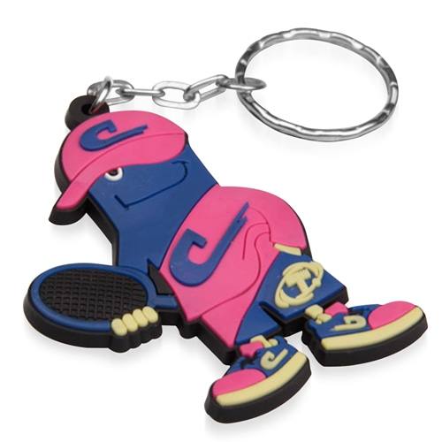 Customize Shape 3D PVC Keychain Image 5