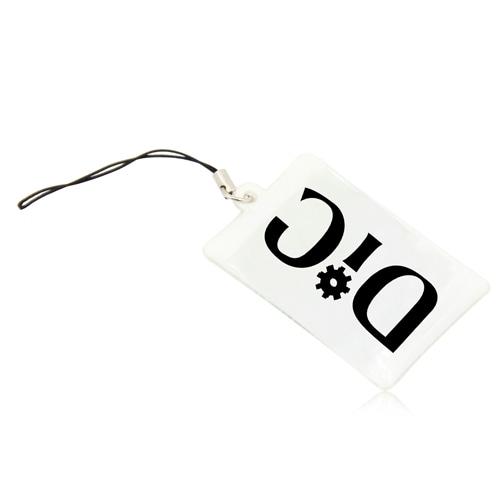 Soft PVC Mobile Hanger Keychain