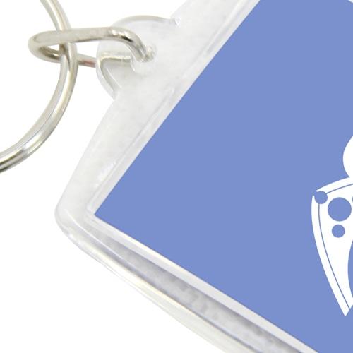 Exclusive Rectangle Plastic Acrylic Keychain