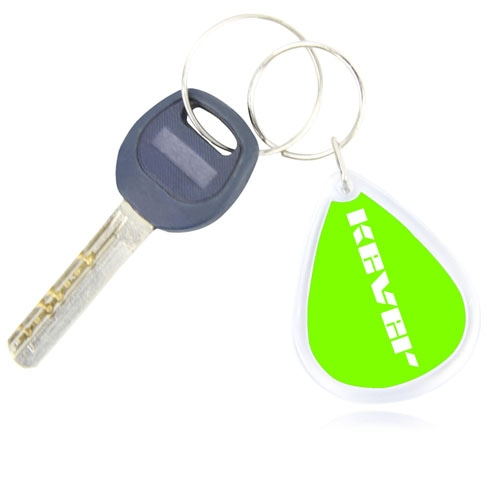 Rain Drop Acrylic Keychain