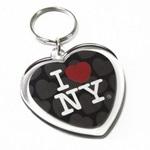 Heart Shaped Acrylic Keychain