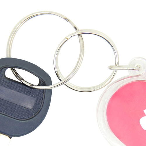 Heart Shaped Acrylic Keychain