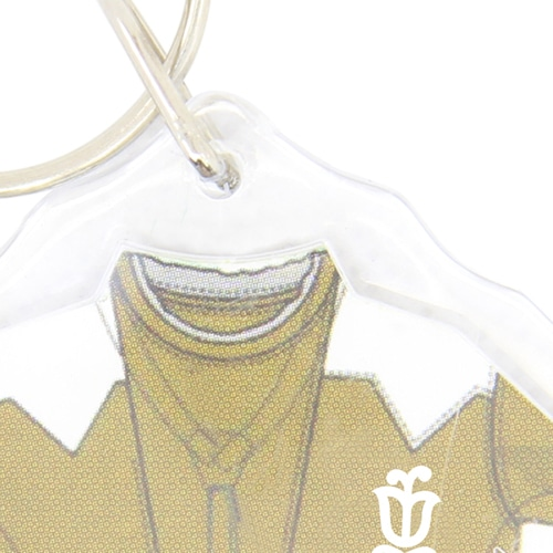 Shirt Shaped Acrylic Key Tag