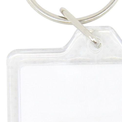 Square Acrylic Key Ring Image 6