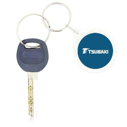 Clear Acrylic Circle Shaped Keychain
