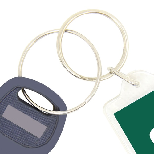 Fancy Rectangle Shaped Acrylic Keychain Image 5