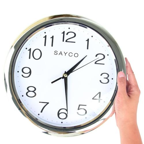 12 Inch Shinny Circular Wall Clock