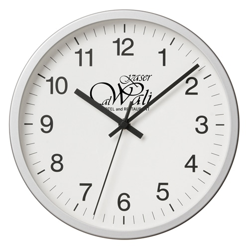 Executive Aluminum Wall Clock Image 10