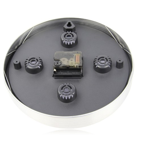 Executive Aluminum Wall Clock Image 1