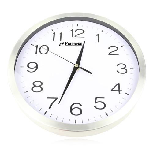 12 Inch Classic Aluminum Wall Clock
