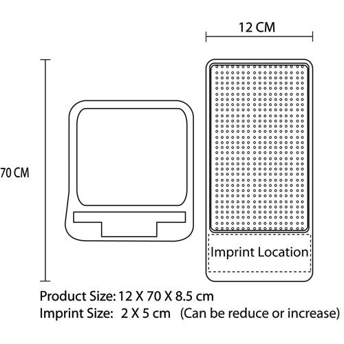 Classy Phone Holder Imprint Image