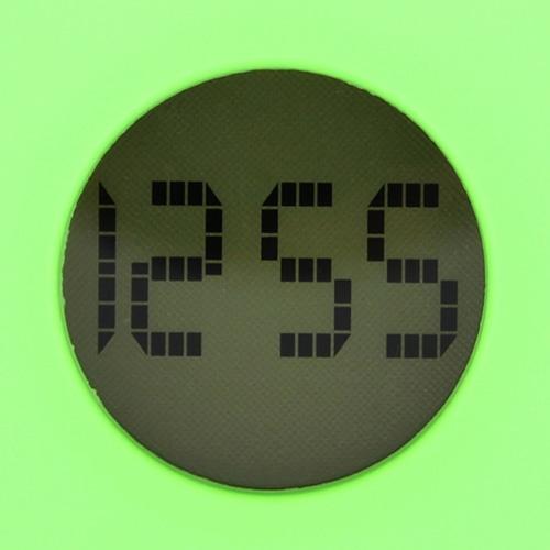 Q Shaped Digital Desk Clock Image 5