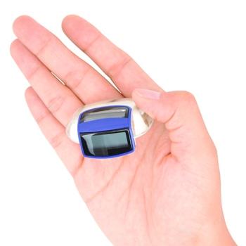 Clip-On Solar Pedometer
