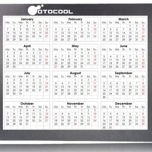 iPad Design Calendar Mousepad