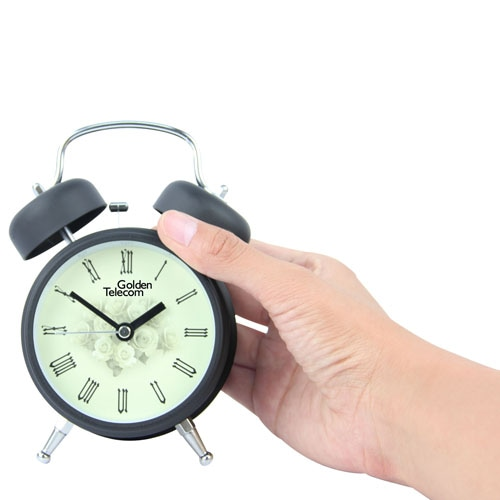 Metal Twin Bell Alarm Clock Image 3