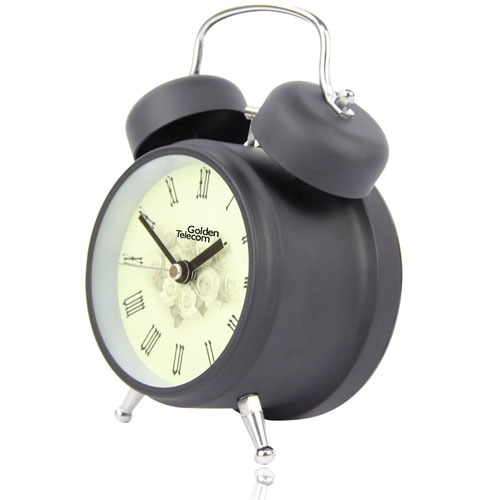 Metal Twin Bell Alarm Clock Image 4