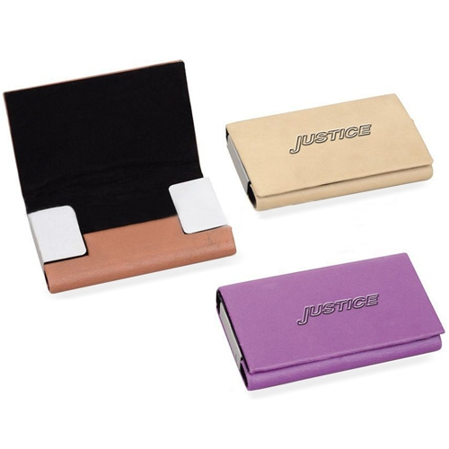 Trendy Cross Section Card Holder