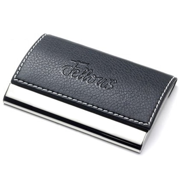 Leather Hardcase Cardholder