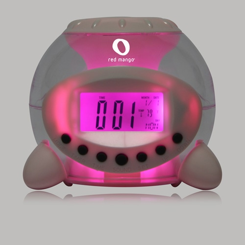 Transparent Alarm Clock Image 6