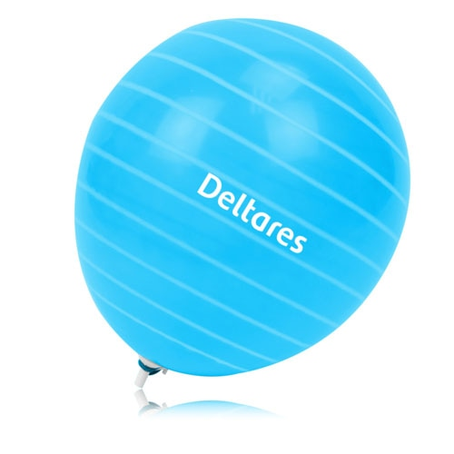 14 Inch - Funky Circle Print Balloon