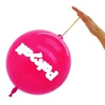 14 Inch - Rubber String Punch Balloon