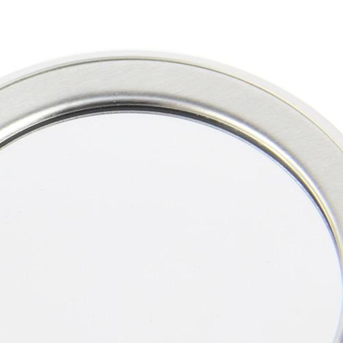 Round Dish Diamond Stone Mirror