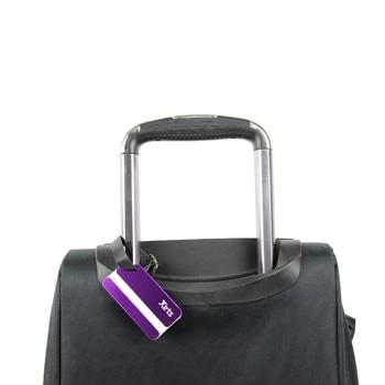 Dapper Aluminum Luggage Tag