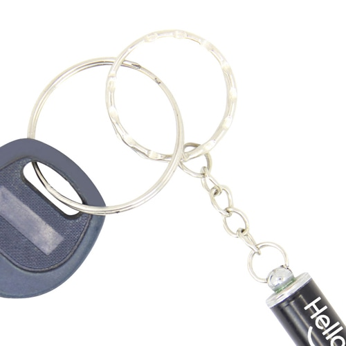 Laser Keychain With Led Light
