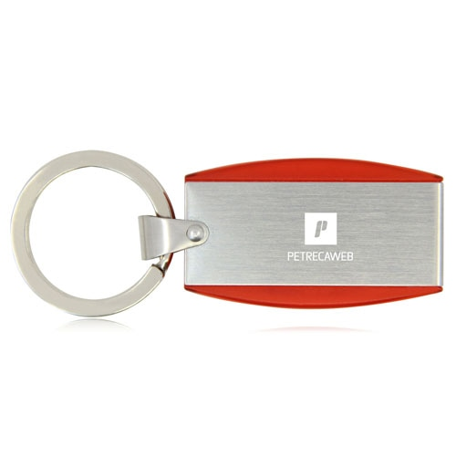 1GB Deluxe Keyring Flash Drive Image 1