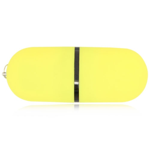 1GB Ritzy Oval Flash Drive Image 4