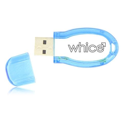 1GB Snazzy Translucent USB Flash Drive