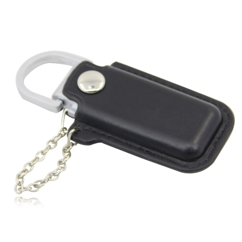 1GB Dashing Flash Drive With Leather Case