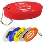 Floating Key Tag Keychain