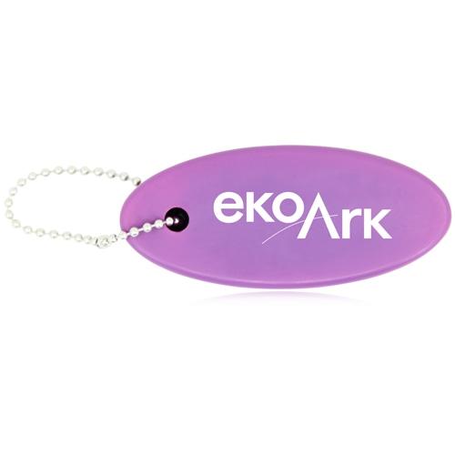 Floating Key Tag Keychain Image 1