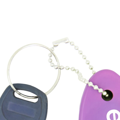 Floating Key Tag Keychain