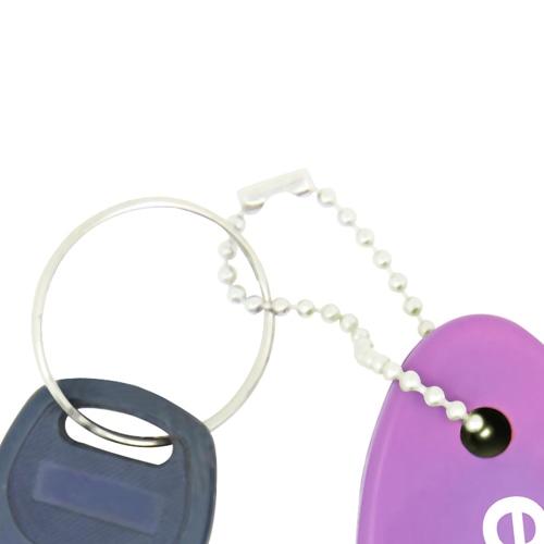 Floating Key Tag Keychain Image 5