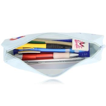 Round Corner Trendy Pencil Bag