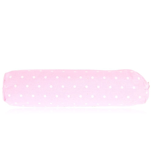 Dot Design Canvas Pencil Case