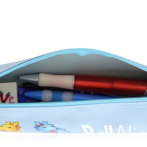 Trendy Cartoon Design Pencil Pouch