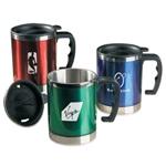 Translucent 16 Oz Travel Mug
