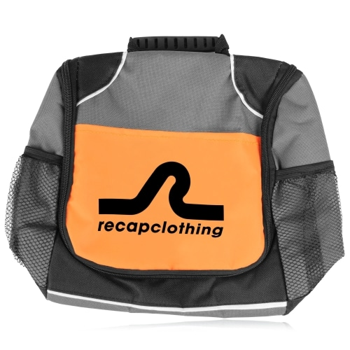 Reflective Lunch Bag with Side Pocket Image 16