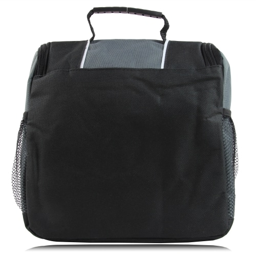 Reflective Lunch Bag with Side Pocket
