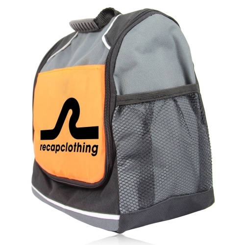 Reflective Lunch Bag with Side Pocket Image 1