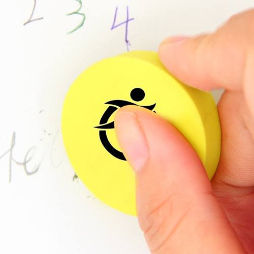 Round Shaped Eraser Image 6