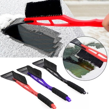 Deluxe Long Handled Car Ice Scraper