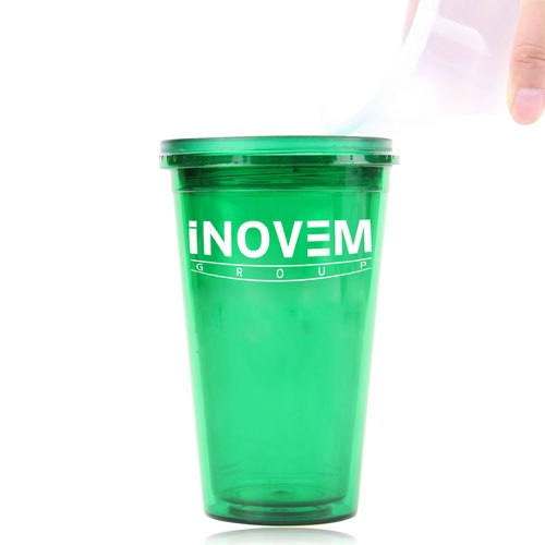 450ML Acrylic Double Wall Cup